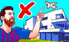 Quyền lực tối thượng, không máy bay nào được phép bay qua nhà Messi?