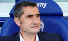 Valverde nói gì khi Barca 'vớ' được Napoli ở vòng 16 đội?
