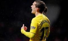 Điểm nhấn Atletico 0-1 Barca: Griezmann 'cóng chân' trên Wanda Metropolitano