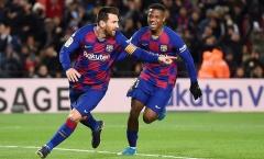 3 điểm nhưng chưa có cuộc cách mạng nào tại Barca