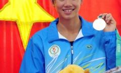 Ánh Viên không hài lòng với 2 kỷ lục SEA Games