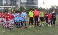 Học viện Arsenal Việt Nam giao hữu với đội trẻ Hồng Kông