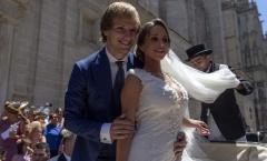 Lãng mạn Rakitic và cô dâu xinh đẹp ngày hạnh phúc nhất