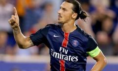 Ibrahimovic chào mừng Di Maria đển PSG