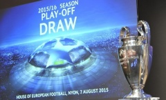 Lịch thi đấu và kết quả vòng play-off Champions League 2015/2016