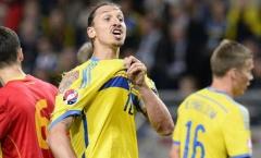 Zlatan Ibrahimovic khiến Thụy Điển lo 'sốt vó'