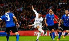 Sao Everton được khen ngợi sau khi giúp Tam Sư đánh bại Estonia