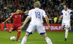 Thắng 4-0, Tây Ban Nha vượt qua vòng loại EURO 2016