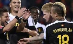 Andorra 1-4 Bỉ (Vòng loại Euro 2016)