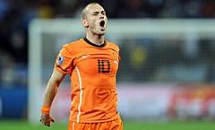 Siêu phẩm góc hẹp của Sneijder