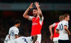 Arsenal: Khi Giroud ngưng tiếng súng