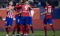 Đánh bại đội bóng xứ Catalan, Atletico vào vòng 1/8 Cúp Nhà vua