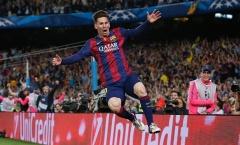 Tờ Guardian bình chọn Messi là cầu thủ xuất sắc nhất thế giới 2015