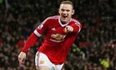 Rooney đánh gót đẹp mắt mang về 3 điểm cho Man Utd