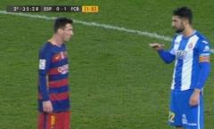 Messi bị sỉ nhục tại Estadi