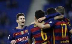 Espanyol 0-2 Barcelona (Vòng 1/8 Cúp Nhà Vua)