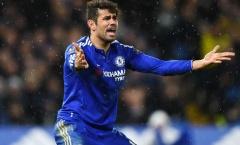 Điên tiết, Diego Costa đấm một phát… thủng tường