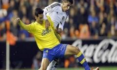 Valencia 1-1 Las Palmas (Tứ kết lượt đi Cúp Nhà Vua)