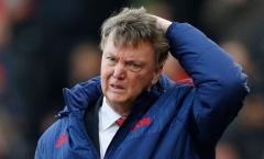 Thất bại ở M.U khiến Van Gaal liên tục bị từ chối
