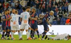 CHÍNH THỨC! Đã có án phạt cực nặng cho trận cầu bạo lực PSG - Marseille