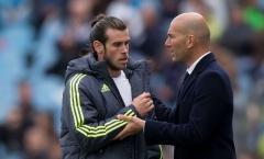 Bale rời Real Madrid, Zidane có lời nhắn nhủ đầy bất ngờ