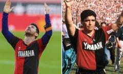 Trọng tài rút thẻ vàng phạt Messi vì tri ân Maradona: 'Trái tim tôi đau nhói'