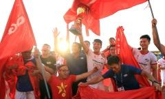 Đè bẹp Bình Phước, Viettel đưa Thể Công trở lại V-League