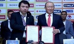VFF lên tiếng về việc gia hạn hợp đồng với HLV Park Hang-seo