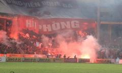 Hà Nội đá sân không khán giả vì CĐV Hải Phòng: 'Quýt làm, cam chịu'?