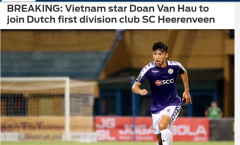 Báo châu Á nói 1 điều về thương vụ Đoàn Văn Hậu đầu quân cho SC Heerenveen