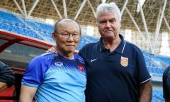 Trợ lý tiết lộ về 3 lần HLV Park Hang-seo gặp 'sếp cũ' Guus Hiddink tại Trung Quốc