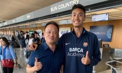 Vì 1 lý do, HAGL phải chia tay cựu học viên của lò đào tạo Barcelona