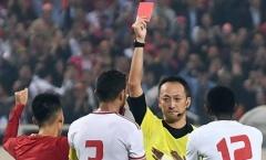 Trọng tài UAE: Không còn gì bào chữa, chiếc thẻ đỏ là chính xác