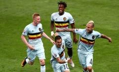 Khi đội tuyển Bỉ nắm giữ 'thể diện' của giải Ngoại hạng Anh