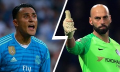 NÓNG! Real muốn mua thủ môn Chelsea thay Navas