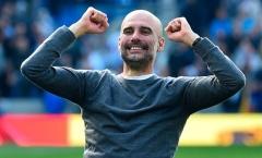 Pep Guardiola: 'Man City làm được điều khó hơn vô địch Champions League'