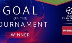 CHÍNH THỨC: UEFA công bố tuyệt phẩm bàn thắng số 1 Champions League