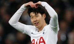 Vì một lý do, Tottenham trì hoãn gia hạn hợp đồng với Son