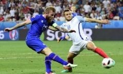 Anh 1-2 Iceland (Vòng 1/8 EURO)
