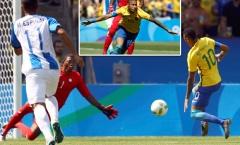 Neymar ghi bàn giây thứ 14, Brazil hủy diệt Honduras bằng chiến thắng 6 sao
