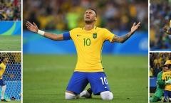 Usain Bolt góp mặt, Neymar khóc như mưa trong ngày làm nên lịch sử cùng Brazil