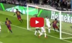 Bàn thắng đẹp nhất Champions League mùa 2014/15 thuộc về Lionel Messi