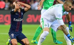 PSG hòa bạc nhược, Cavani ôm đầu uất hận