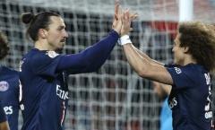 'PSG nhớ Ibrahimovic và David Luiz'