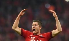 Lewandowski ghi bàn trận thứ 3 liên tiếp, Bayern mở hội Oktoberfest