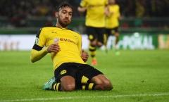 Khi Aubameyang khiến Dortmund lo lắng