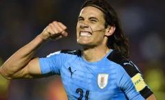 VL World Cup 2018 khu vực Nam Mỹ: Uruguay thắng ấn tượng, Paraguay thất thủ trên sân nhà
