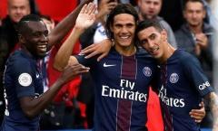Tổng hợp vòng 9 Ligue 1: Cavani lại nổ súng giúp PSG lên nhì bảng