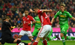 Bayern nhẹ nhàng thắng Gladbach, Dortmund chật vật hòa đội chiếu dưới 3-3