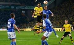 Aubameyang vô duyên, Dortmund không thể có 3 điểm trong trận derby vùng Ruhr